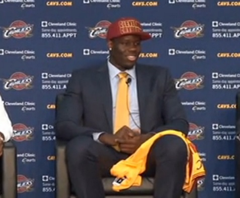 Anthony Bennett Cavs 2013